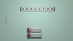 How to Pronounce ABDUCTOR