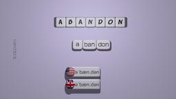 How to Pronounce ABANDON