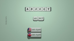 How to Pronounce ABJECT