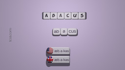 How to Pronounce ABACUS