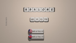 How to Pronounce ABALONE