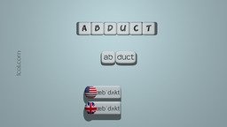 How to Pronounce ABDUCT