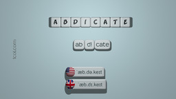 How to Pronounce ABDICATE