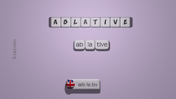 How to Pronounce ABLATIVE